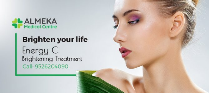 Brighten your life with Professional Energy C Brightening Treatment