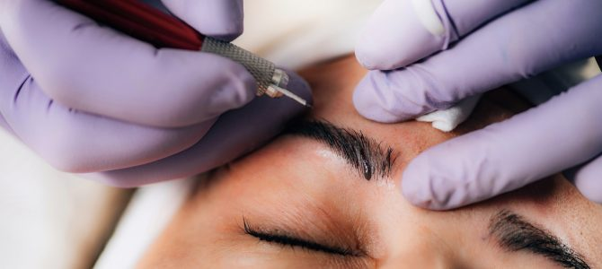 Microblading improves the appearance of your eyebrows